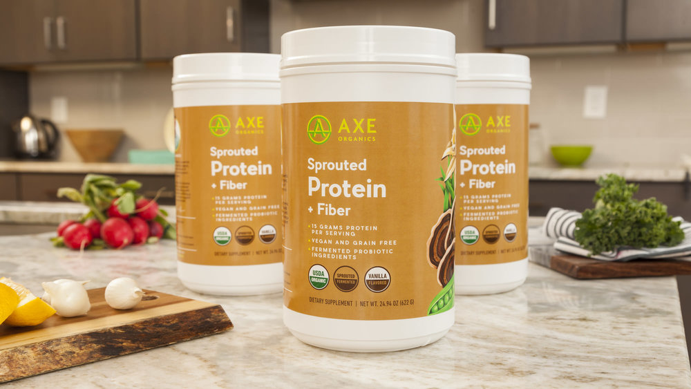 Axe Sprouted Protein Fiber