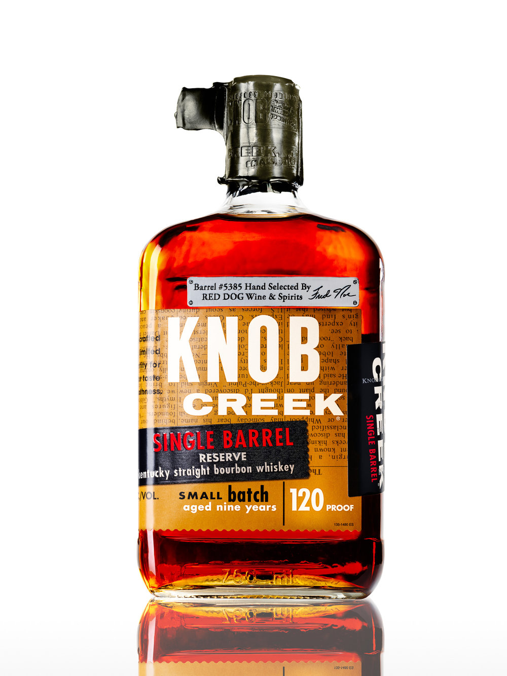 Ecommerce photography for Knob Creek in Nashville TN