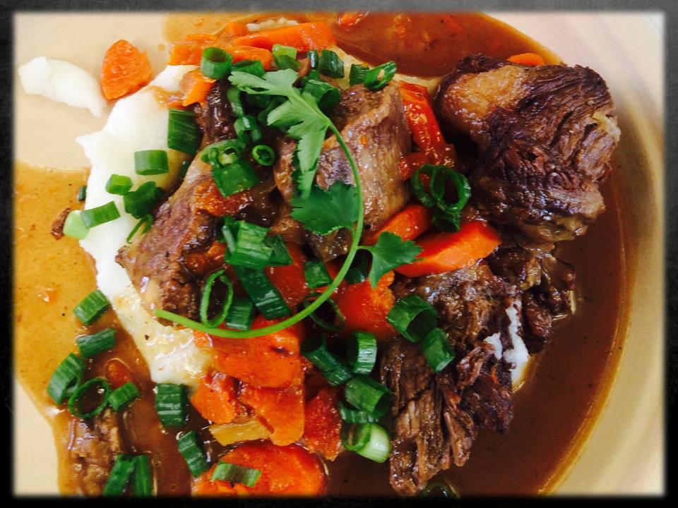 Beef Short Rib Potjie (Stew)