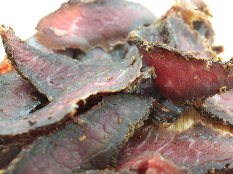 Biltong...it's not jerky, its better!