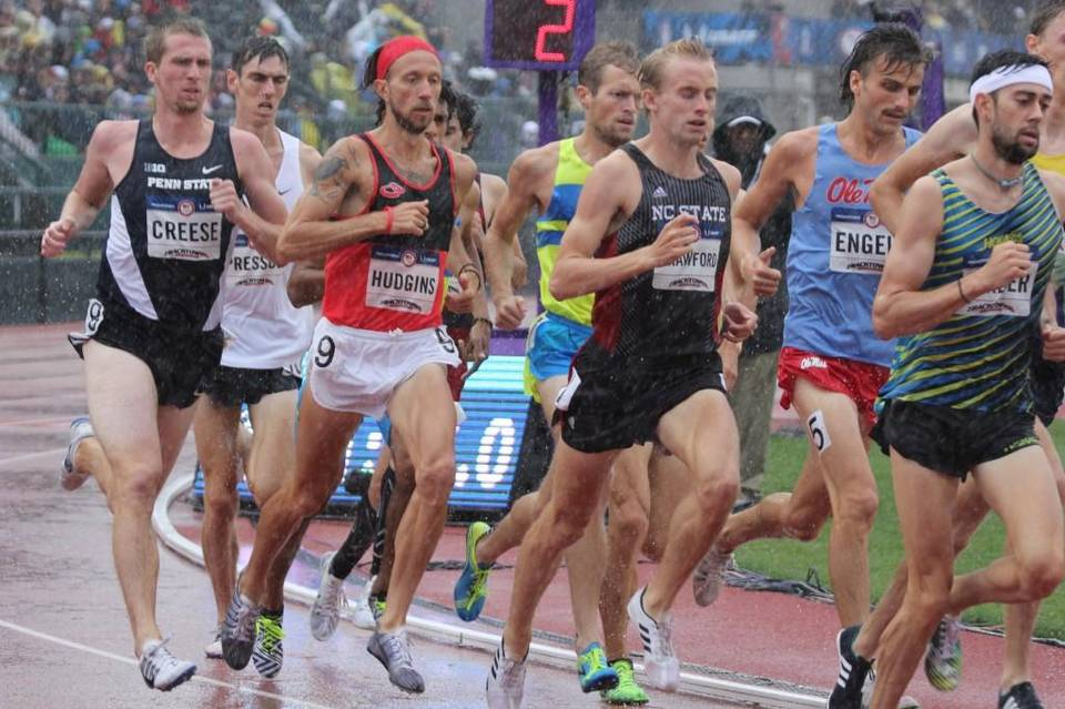 Brandon Hudgins competing at the 2016 Olympic Trials in Oregon.