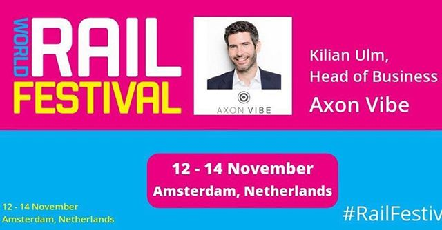 We will be at World Rail Festival in Amsterdam next week. Come and hear Kilian Ulm discuss how rail operators can lead the orchestration of door-to-door and multi-modal mobility #RailFestival #rail #publictransport
