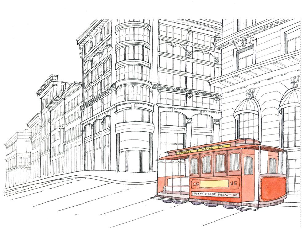 Powell Street Cable Car