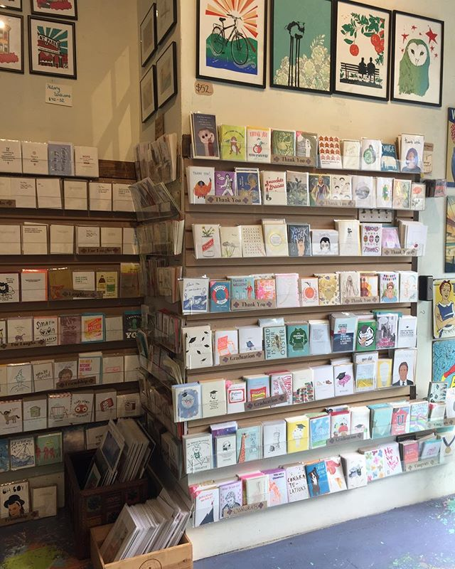 It's official! My cards are sold in a shop thanks to @serendipitysf1 :) come stop by and check in out!