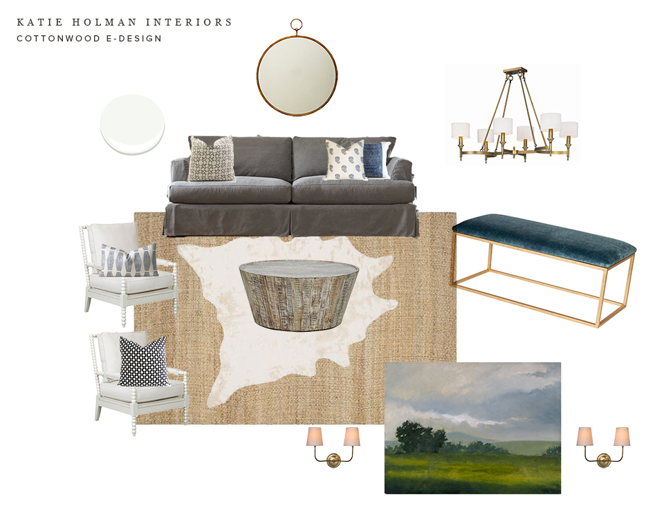 Katie Holman Interiors | Cottonwood E-Design