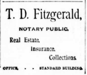 Advertisement from the  Anaconda Standard , May 6, 1892, page 6