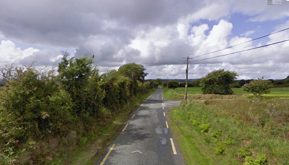 Near Templeathea, County Limerick, Ireland, July 2009 (Google Maps Street View)