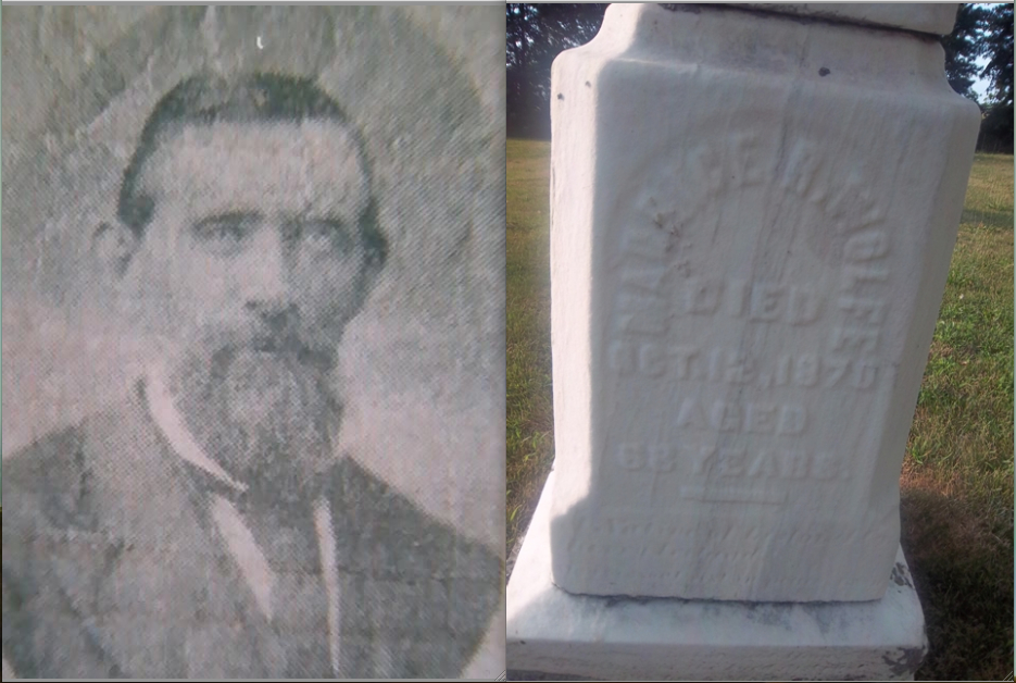 Maurice R. Wolfe   (Knockanure Library),   Wolfe's gravestone   (The VanFleets / Find a Grave)