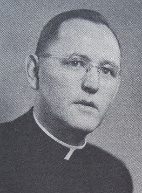 Undated photograph of Rev. Maurice Woulfe (Courtesy of Charles Zadora)