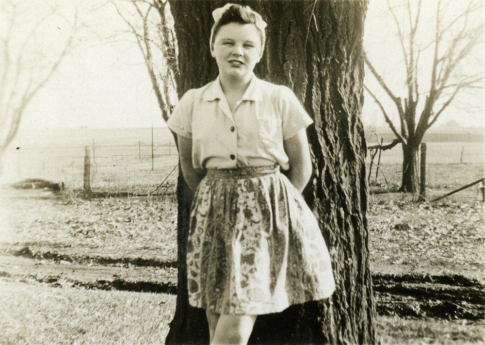 Mary Kathryn Wolfe, 1942