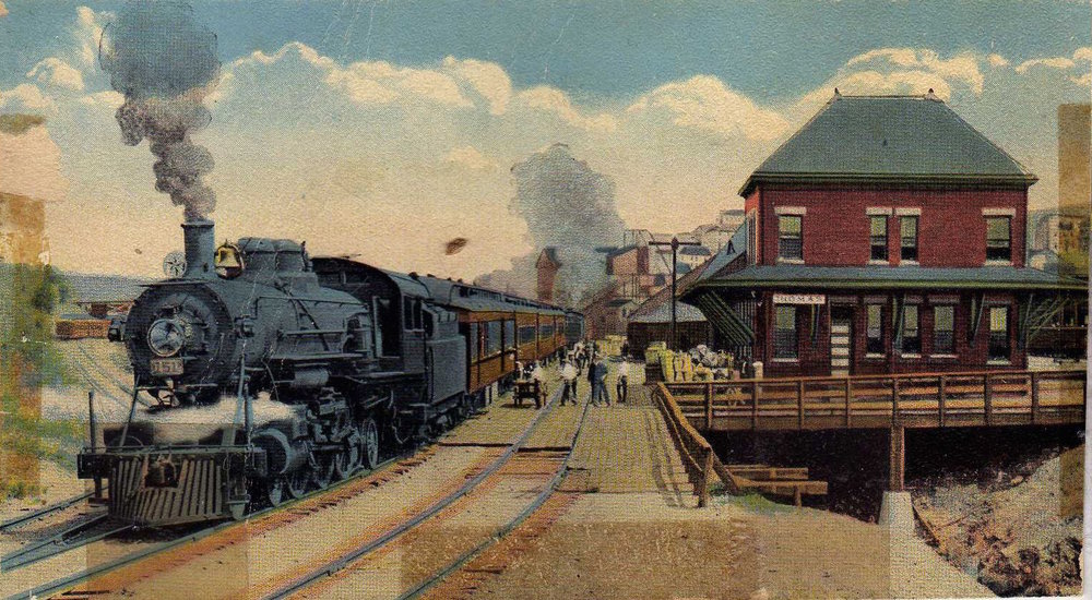 Western Maryland Station, Thomas, West Virginia (  source  )