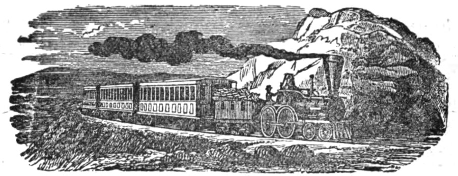 Chesapeake & Ohio train traveling through the mountains of Virginia, 1881 (  source  )