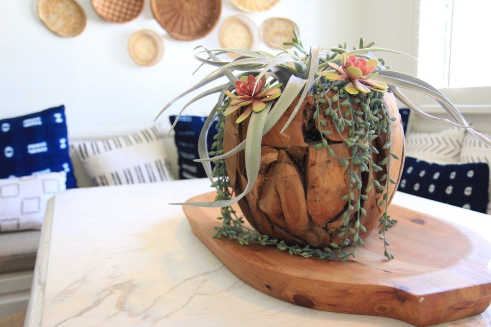 Killer succulent arrangement.
