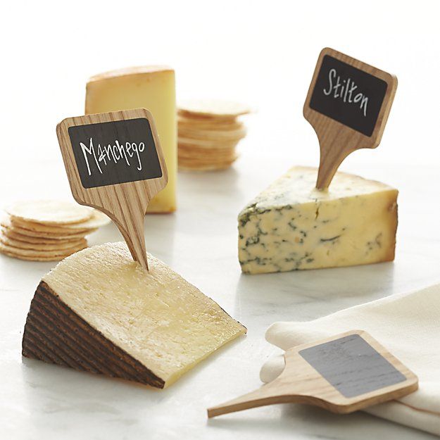 Cute cheese chalkboards are only $12.95