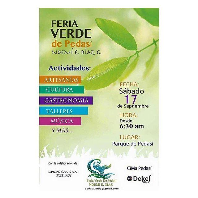 Cultura, sostenibilidad, gastronomía y entretenimiento. ¿Qué más podemos pedir? #AzueroHills apoyando la primera feria verde en Pedasí. Hoy hasta las 7:00 p.m. ¡Acompáñanos 🙌! #Pedasi #LosSantos #Panama.
