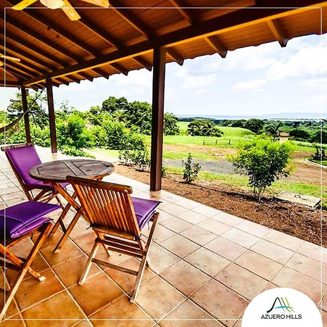Picture you at your terrace enjoying a hot morning coffee contemplating the green surroundings and the sound of the ocean as a background. Life is beautiful 👌. #AzueroHills #Azuero #Pedasi #LosSantos #Panama #Relax #nature #retreat #landscape.