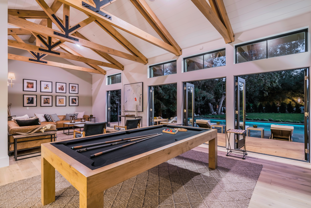 sunset residence game room