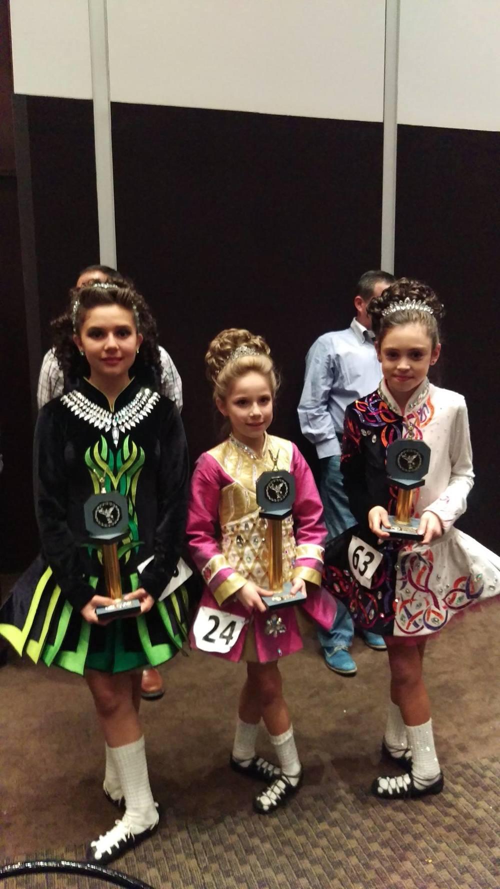 Mijetzy, Sofía y Daniela - Preliminary Champions
