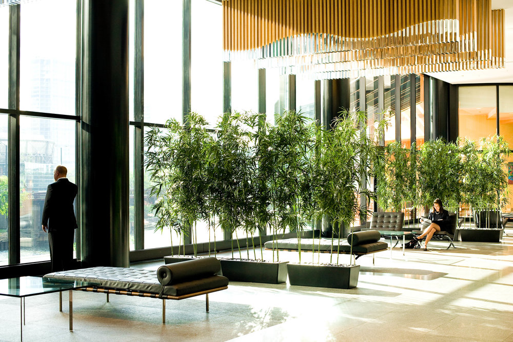 Featured Project: 300 South Riverside Lobby in Chicago, click on the image for the project page.