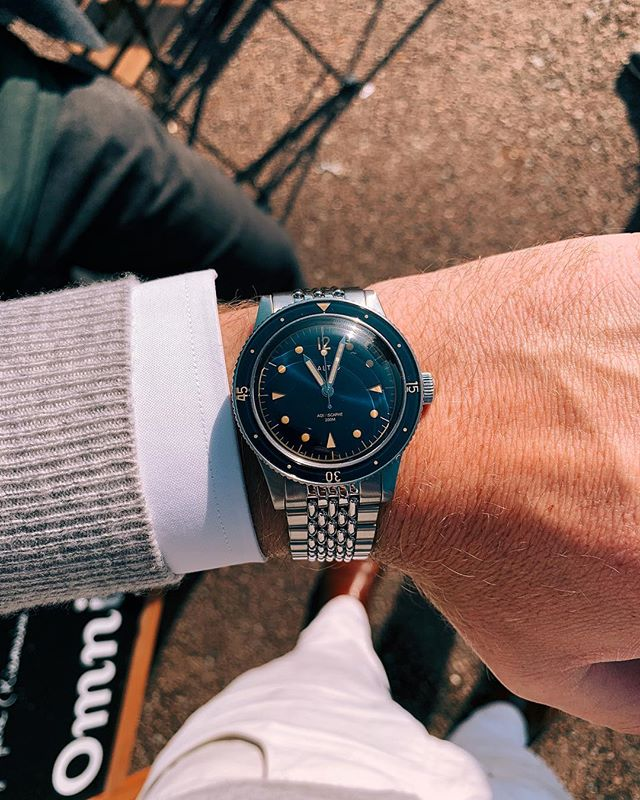 Loving the new @balticwatches Aquascaphe, so much bang for the buck!!