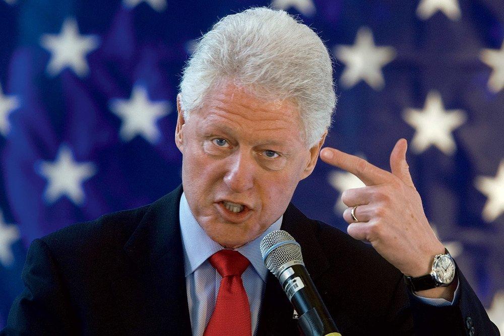 Bill Clinton by 10am