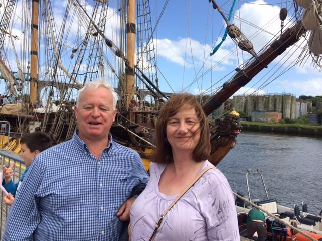 Lyons at the dock.JPG