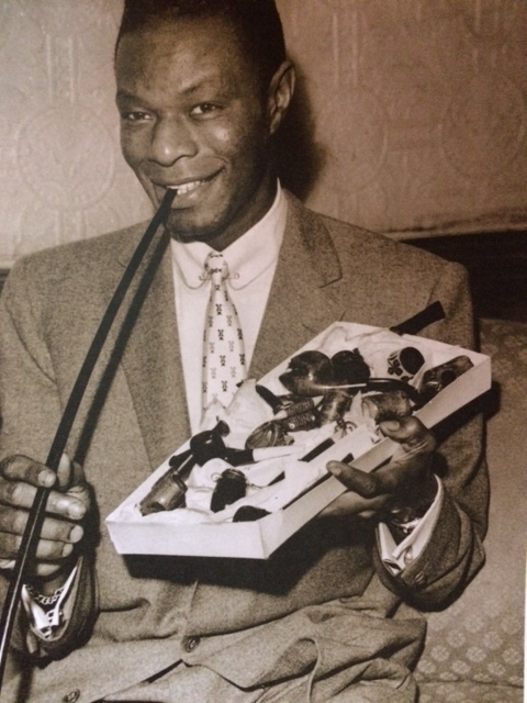Nat King Cole, in the Grand Central Hotel.