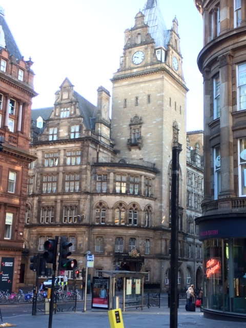 The Grand Central Hotel, Glasgow.