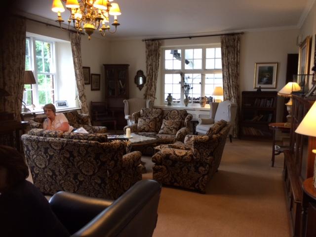 the interior of Abbeyglen Castle Hotel