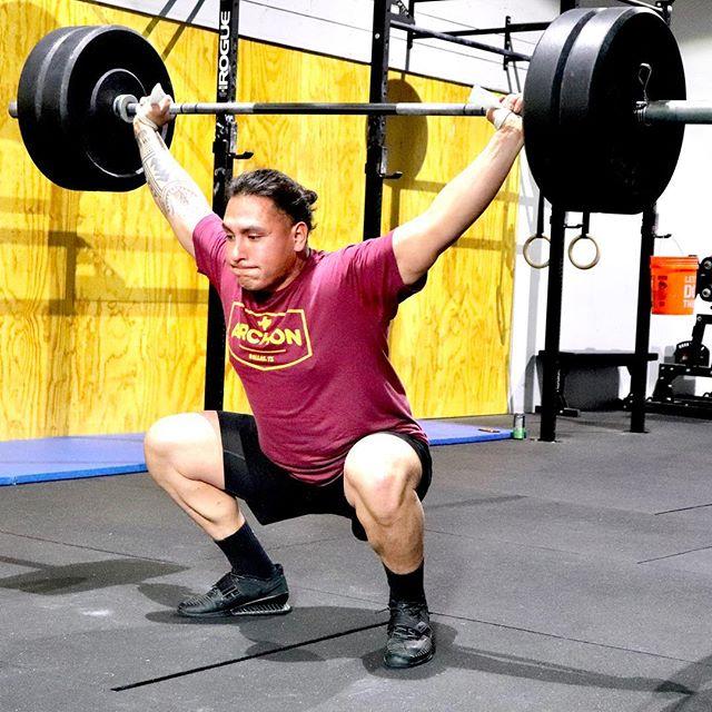 🏋🏽Archon Strong 🏋🏽 - - - - - #crossfitdallas #dallasweightlifting #dallasfitness #crossfit #wod #snatch #dallas #dallasfit