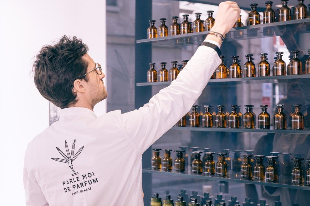 Benjamin Almairac, fondateur de Parle Moi de Parfum