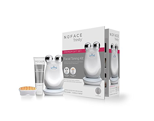 Nuface - Nuface Trinity Facial Trainer Kit with LED Attachment - $425I LOVE LOVE LOVE this device! It's THE BEST addition to your skincare routine if you're looking for anti-aging results. It's simple to use, but if you need a little guidance check out my three part tutorial on YouTube! Part three is a full face demonstration of how to use the device.Think of it as a workout for your face. Gentle micro currents actively lift and tone the muscle giving immediate and cumulative results. In addition to these noticeable results, micro current also stimulates the production of ATP, which is cellular food, creating a reserve of cellular energy needed to perform all kinds of healthy skin functions.It also comes with an LED attachment. If micro current addresses the muscle, LED addresses the skin. Red light LED diminishing wrinkle depth, plumping targeted areas and increasing collagen production.