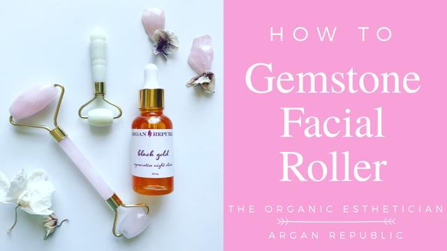 2d14b2917683 How To  Rose Quartz Facial Roller — The Organic Esthetician