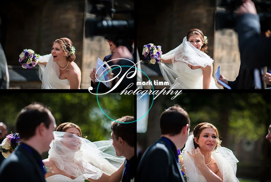 glasgow uni wedding photographs