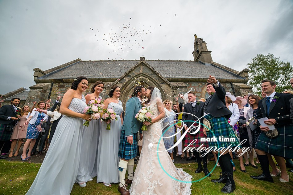 trossachs church wedding