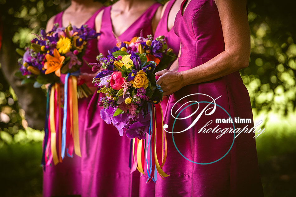 colourful wedding flowers edinburgh