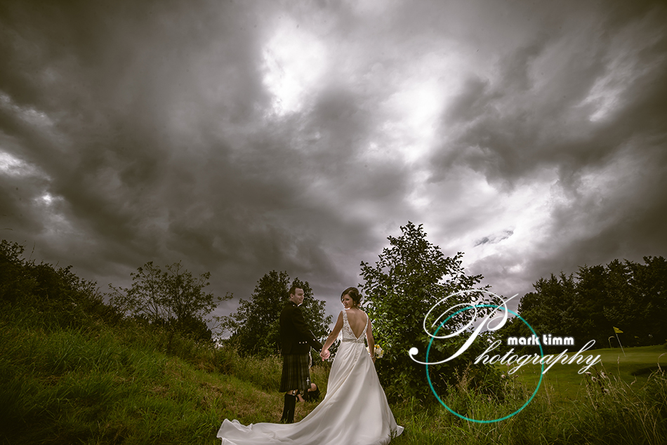 dramatic wedding photography ayr