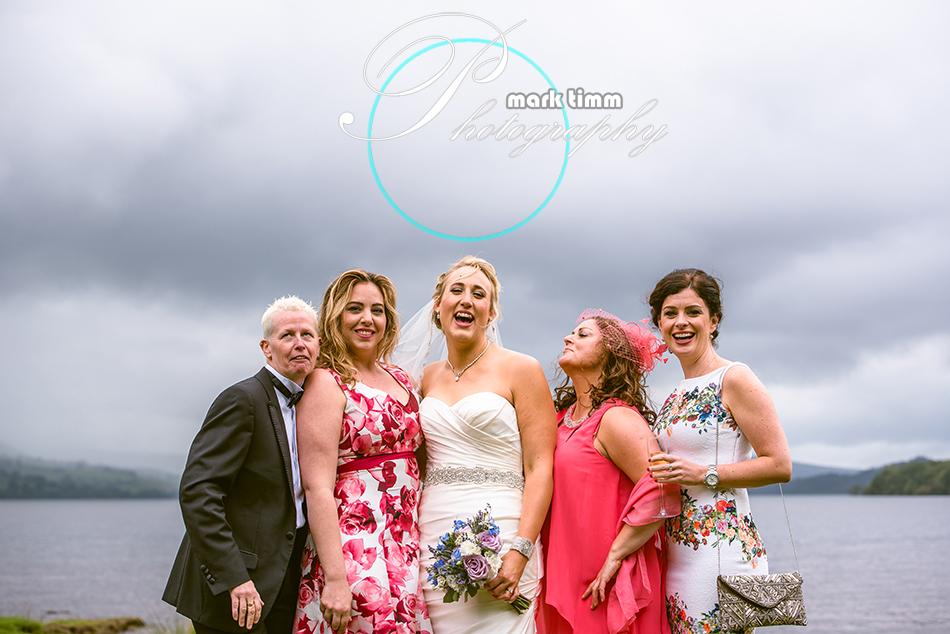 outdoor wedding loch lomond