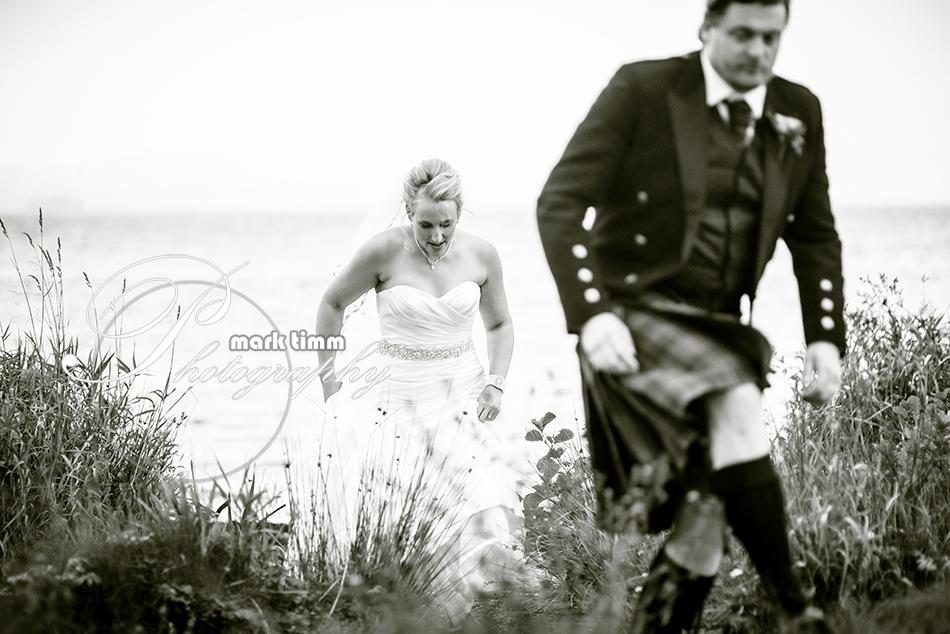 balmaha waterfront natural wedding photography
