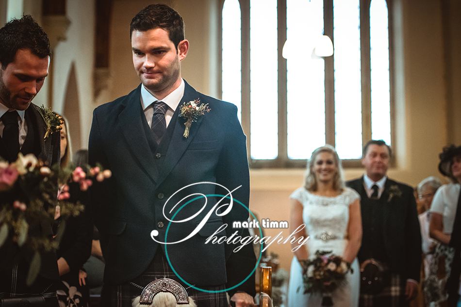 dull and weem church wedding