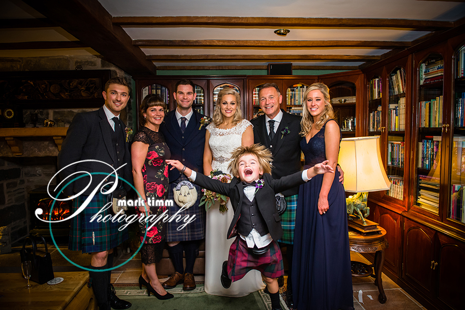 fun wedding photography scotland