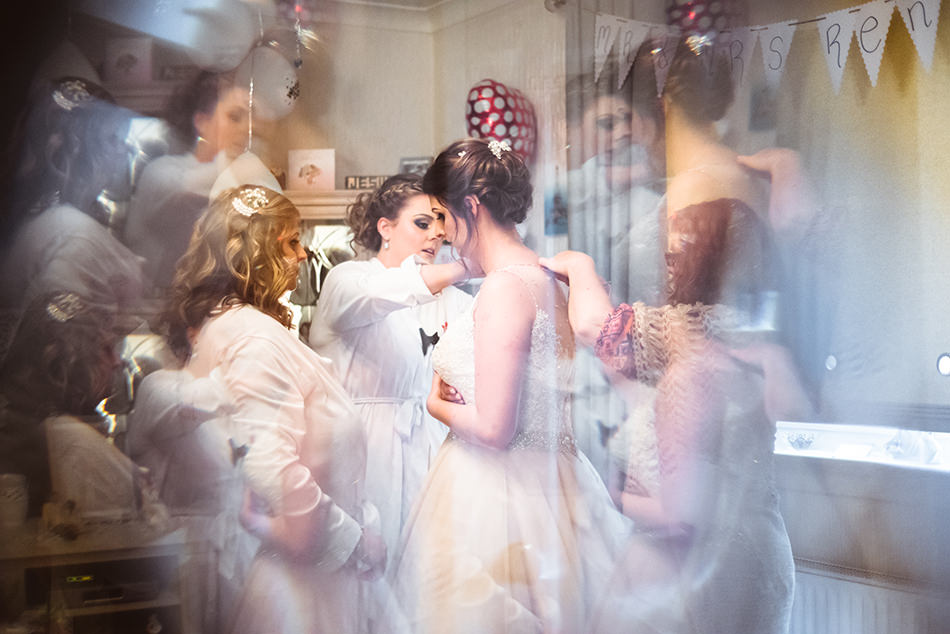 creative wedding photographer scotland