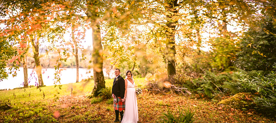 isle of bute wedding photos