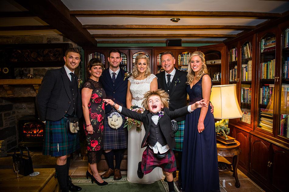 fun wedding photographer scotland