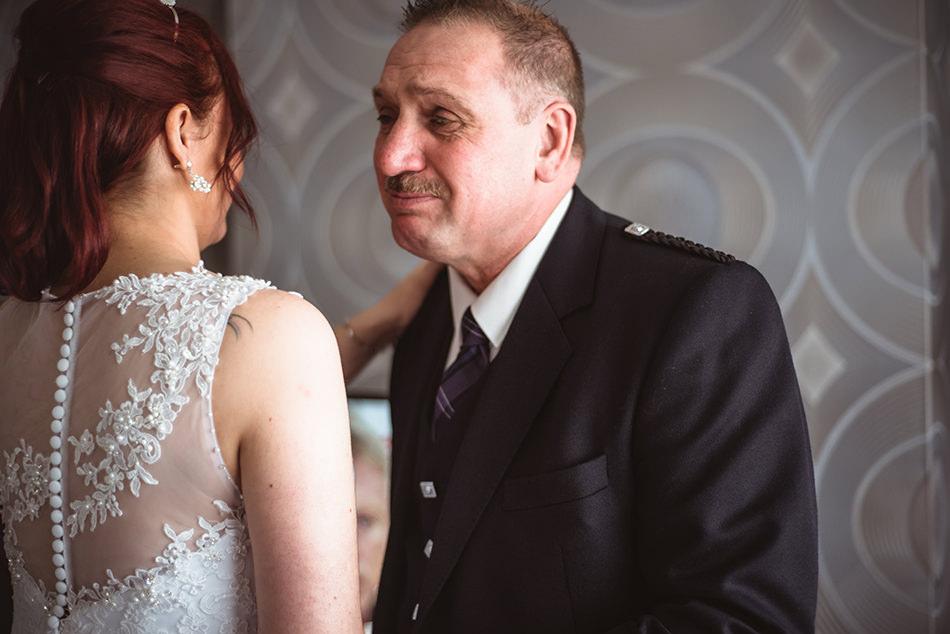 documentary wedding photographer glasgow