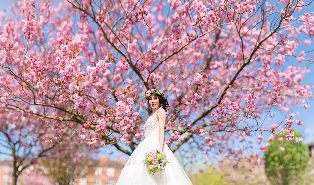 blossom wedding scotland photographs