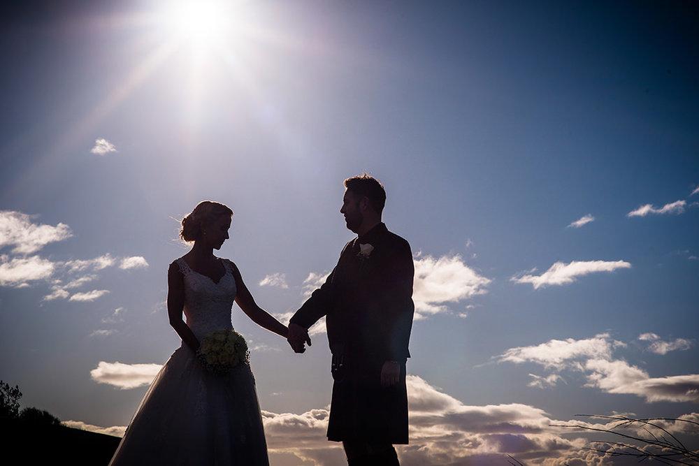 beach wedding ayrshire