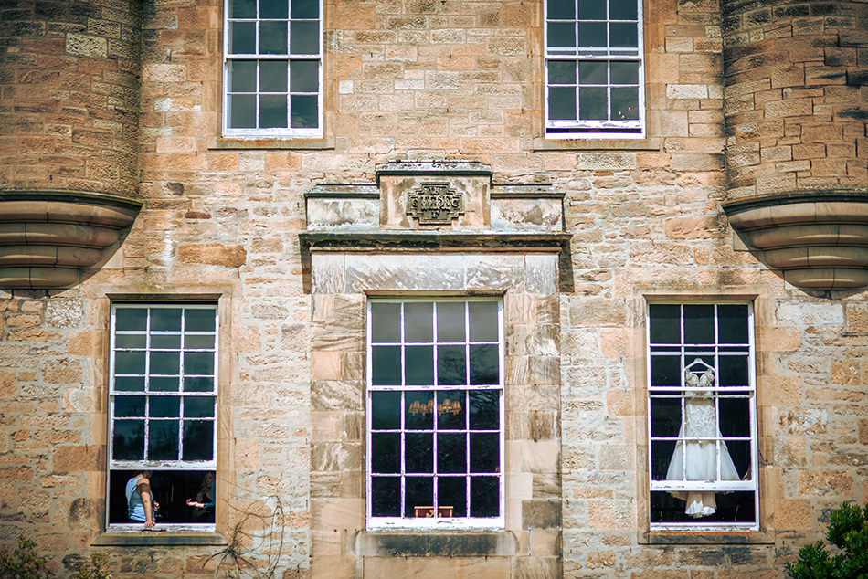 carberry tower wedding photo