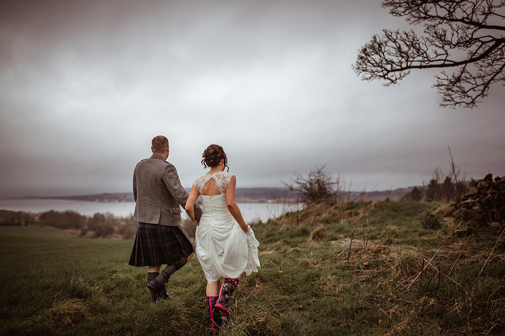 ingliston river clyde wedding outdoor photos