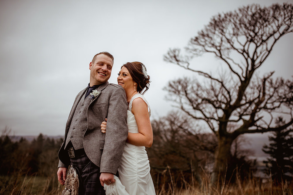 ingliston intimate romantic wedding photography outdoor alternative